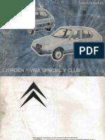 Manual Citroen Visa