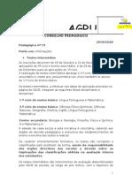 CONSELHO PEDAGGICO-Informaes Depart Amen To
