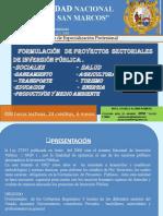 Proyectossectoriales SNIP