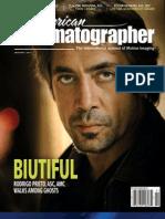 American Cinematographer Magazine - January 2011-TV