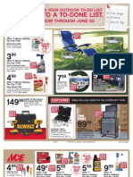 Seright's Ace Hardware June 2011 Red Hot Buys