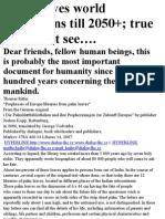Brighu Predictions 2000-2050