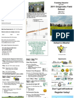 401 2011 Field School Brochure