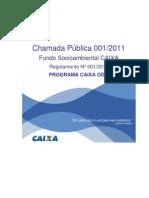 Regulamento0012011 Chamada Pública CEF