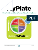 MyPlate Graphics Standards