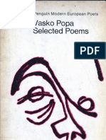 Elected Poems