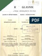 Glasnik Zemaljskog muzeja u BiH [godina 35; 1923.]