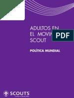 Adultos En El Movimiento Scout - Política Mundial