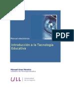 Introducción a la tecnología educativa. Area, M. (2009)
