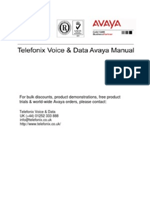 Datasheet Avaya Phone-1608 | Conference Call | Telephone