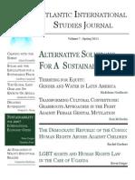 Atlantic International Studies Journal Spring 2011