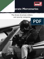 Corporate Mercenaries