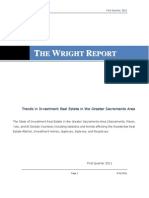Sacramento Area Real Estate Market Report