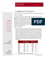 Condiments & Sauces Industry Update - October 2010