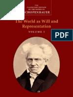 World as Will y Representation I