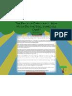 FINANCE Bell Schedule