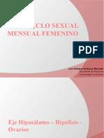 Ciclo Sexual Femenino (Ovarico)