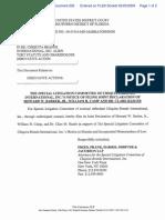 2009-02-25 Chiquita Special Litigation Report