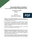 Ley General de bomberos de Colombia Ley 203 de 2011