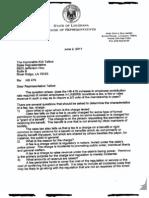 Tucker Letter