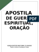 APOSTILA Guerra Espiritual Igreja