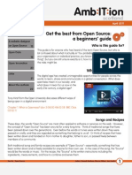 How to...Get the Best from Open Source