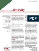Death & Diversity Newsletter (Dec 2010)