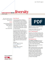 Death & Diversity Newsletter (May 2011)