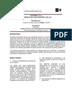 Tecnicas de Analisis Instrumental Informe 4