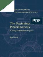 The Beginnings of Piezoelectricity