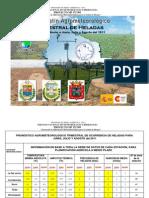 Boletín Agrometeorológico-Trimestral de Heladas correspondiente a Junio, Julio y Agosto del 2011