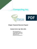 Pico Computing Password Recovery Program Manual (Apr 2010)
