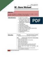Dane Cirson Resume 2010 v2