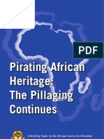 Pirating African Heritage Brief