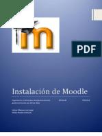 InstalaciónMoodle