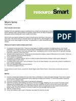Worm Farms Fact Sheet