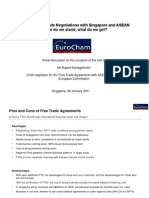 110126 EuroCham FTA Trade Policy Breakfast Talk
