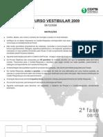 Prova Segunda Fase Uel 2009 Direito