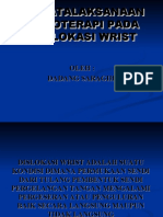 Penatalaksanaan Fisioterapi Pada Dislokasi Wrist