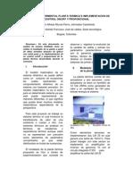 Modelado Experimental Planta Termica e Implemetecion de Control On