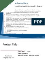 APQC Storyboard Presentation Format