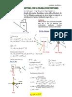 Sistemas de Particulas Con Aceleracion Uniforme