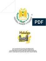 Convocatoria de Los Xlvi Juegos Nacionales Pachuca,Hidalgo 2011