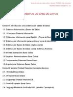 FUNDAMENTOS Unidad 1 Introducción a los sistemas de bases de datos