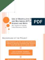 016 Breakout Use of Manipulative Multimedia Materials in Teaching Sci Math