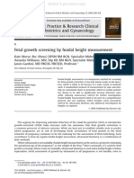 Fundal Height Screening