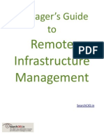 Managers' Guide to Remote Infrastructure Management