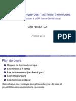 Thermodynamiques Des Machines Thermiques