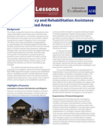 ADB's Emergency and Rehabilitation Assistance  on Flood-Affected Areas