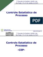 Controle Estatístico do Processo CEP